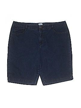 Just My Size Denim Shorts Size 22 (Plus)