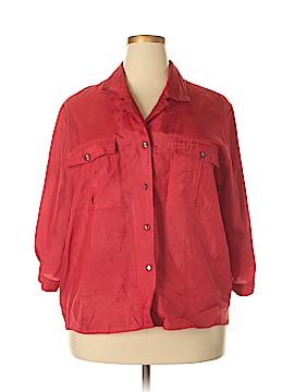 Josephine 3/4 Sleeve Button-Down Shirt Size 22 (Plus)