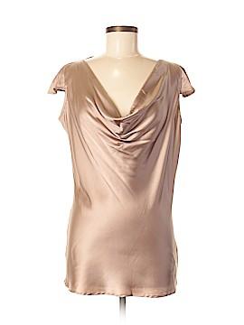 2b Rych Short Sleeve Silk Top Size 8