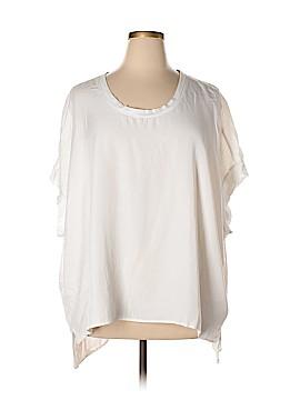 Diane Gilman Short Sleeve Blouse Size 2X (Plus)