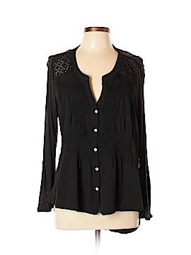 Meadow Rue Long Sleeve Blouse Size XL