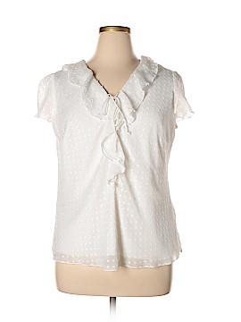 DressBarn Short Sleeve Blouse Size 1X (Plus)