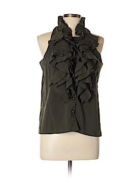 RobbI & Nikki Sleeveless Button-Down Shirt Size L