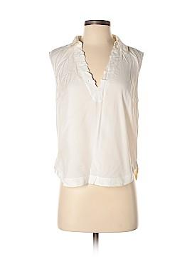 Frame Shirt London Los Angeles Sleeveless Blouse Size S
