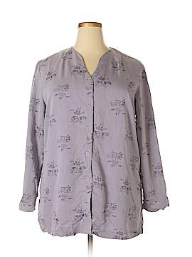 Maggie Long Sleeve Blouse Size 1X (Plus)