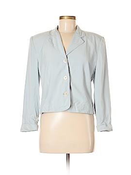 Halston Silk Blazer Size 8