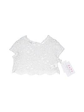 Pippa & Julie Short Sleeve Blouse Size 6