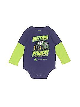 John Deere Long Sleeve Outfit Size 9-12 mo