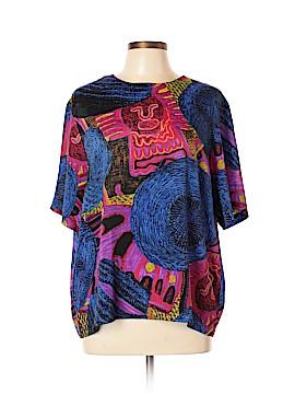 Christie & Jill Short Sleeve Top Size XL