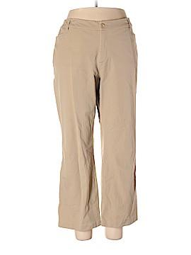 St. John's Bay Khakis Size 22 W (Plus)