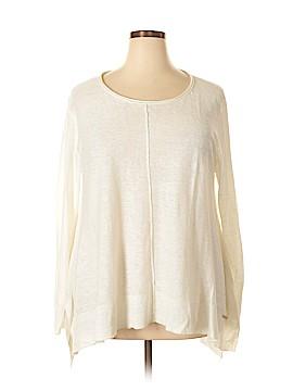 Donna Karan New York Long Sleeve Top Size XL