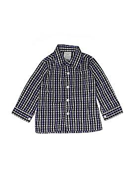 Perry Ellis Portfolio Long Sleeve Button-Down Shirt Size 12 mo