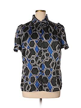 Worthington Short Sleeve Button-Down Shirt Size 1X (Plus)