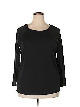 Lauren by Ralph Lauren Long Sleeve T-Shirt Size 2X (Plus)