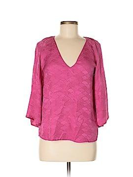 Corey Lynn Calter 3/4 Sleeve Silk Top Size 6