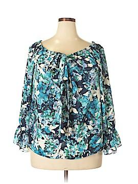 Sami & JO Long Sleeve Blouse Size XL