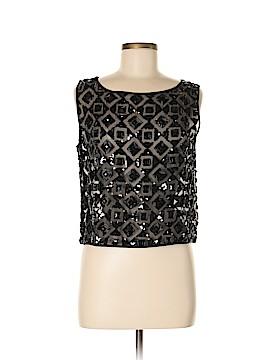Adrienne Vittadini Sleeveless Silk Top Size M