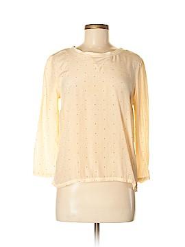 Madewell 3/4 Sleeve Silk Top Size M