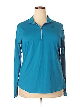 Nike Track Jacket Size 1X (Plus)