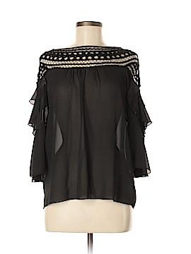 San Joy 3/4 Sleeve Blouse Size M
