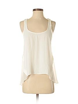 Topshop Sleeveless Button-Down Shirt Size 4