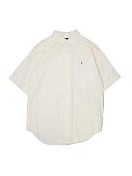 Ralph by Ralph Lauren Short Sleeve Button-Down Shirt Size L (Kids)