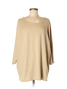 Cj Banks 3/4 Sleeve T-Shirt Size 3X (Plus)