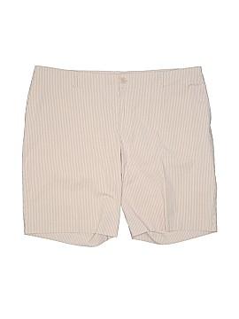 Mossimo Khaki Shorts Size 24w (Plus)