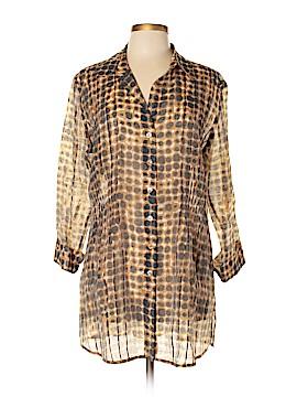 Noe + Zoe 3/4 Sleeve Blouse Size XL