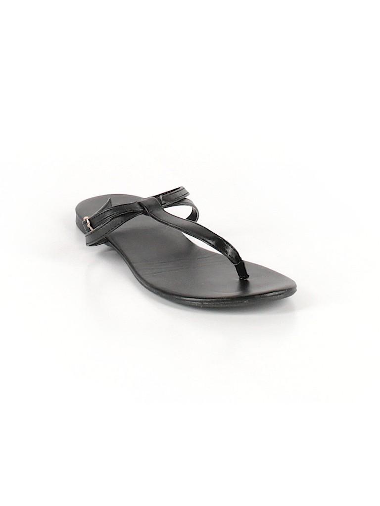 2cdde4efd007 Montego Bay Club Solid Black Flip Flops Size 6 - 50% off
