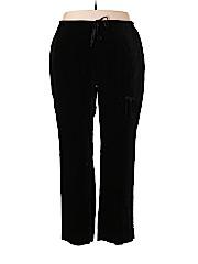 Venezia Women Velour Pants Size 18 - 20 Plus (Plus)