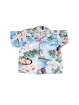 Nui Nalu Short Sleeve Button-Down Shirt Size 6 mo