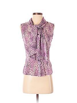 St. John Collection Sleeveless Silk Top Size 2
