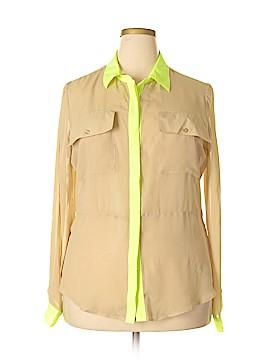 Allen B. by Allen Schwartz Long Sleeve Blouse Size XL