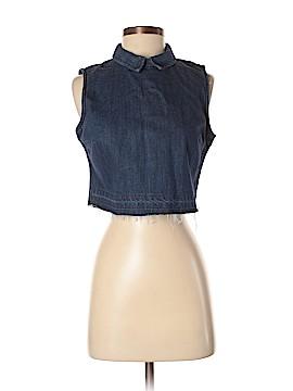Fashion Union Sleeveless Blouse Size 8
