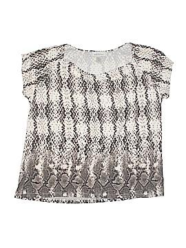 Hampshire Studio Short Sleeve Top Size 1X (Plus)