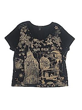Susan Lawrence Short Sleeve T-Shirt Size 2X (Plus)