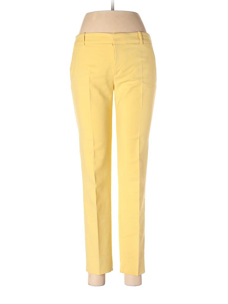 acdd505640d8 Zara Solid Yellow Dress Pants Size M - 64% off | thredUP