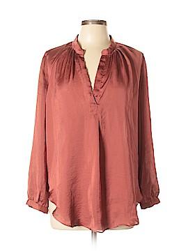 Olivaceous Long Sleeve Blouse Size L