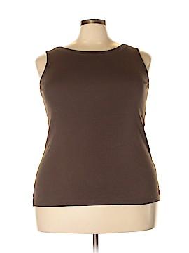 J.jill Sleeveless T-Shirt Size 1X (Plus)