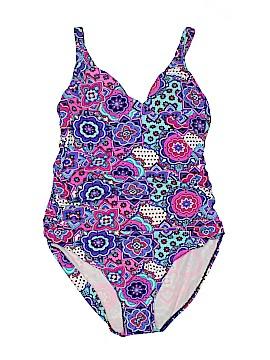 Assets One Piece Swimsuit Size XL