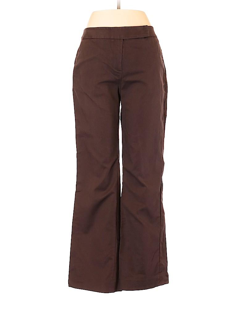 8be6cb3e036 Oscar by Oscar De La Renta Solid Brown Dress Pants Size 6 - 93% off ...