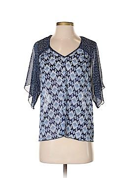 Mason + Mackenzie Short Sleeve Blouse Size XS