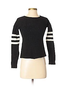 Aqua Wool Pullover Sweater Size XS