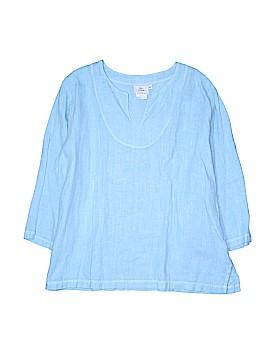 Hot Cotton 3/4 Sleeve Blouse Size XL (Plus)