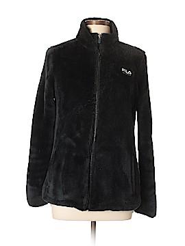 Fila Sport Faux Fur Jacket Size L