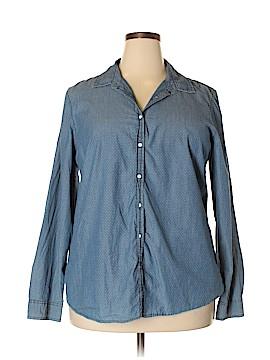 G.H. Bass & Co. Long Sleeve Button-Down Shirt Size XXL