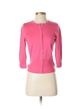 White House Black Market Silk Cardigan Size S