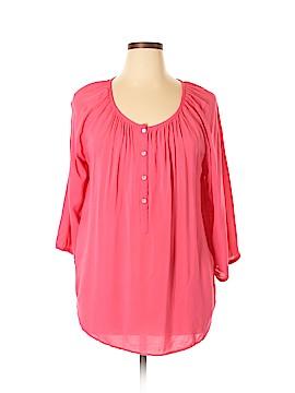 Intro 3/4 Sleeve Blouse Size XL