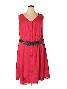 Croft & Barrow Casual Dress Size 18W (Plus)